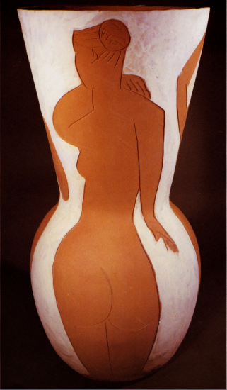 Big Vase with Nude Women, 1950