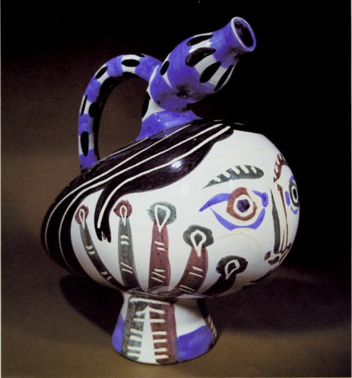 Duck flower-holder, 1951