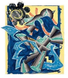 Frank Stella Had Gadya: Back Cover, 1984