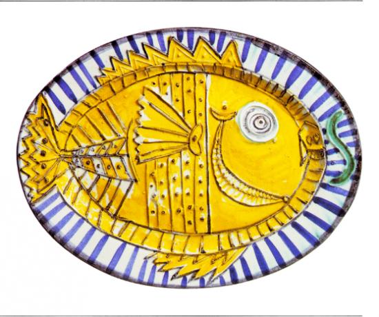 Fish in Profile, 1951