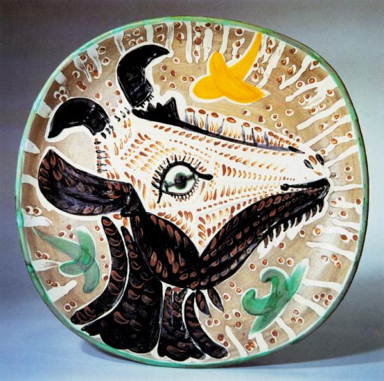 Goat's Head in Profile, 1952