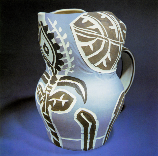 Gothic Pitcher with leaves, 1952
