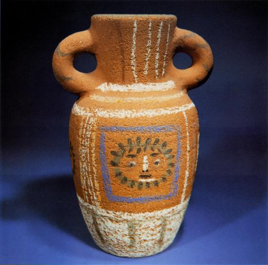 Vase with Pastel Decoration, 1953