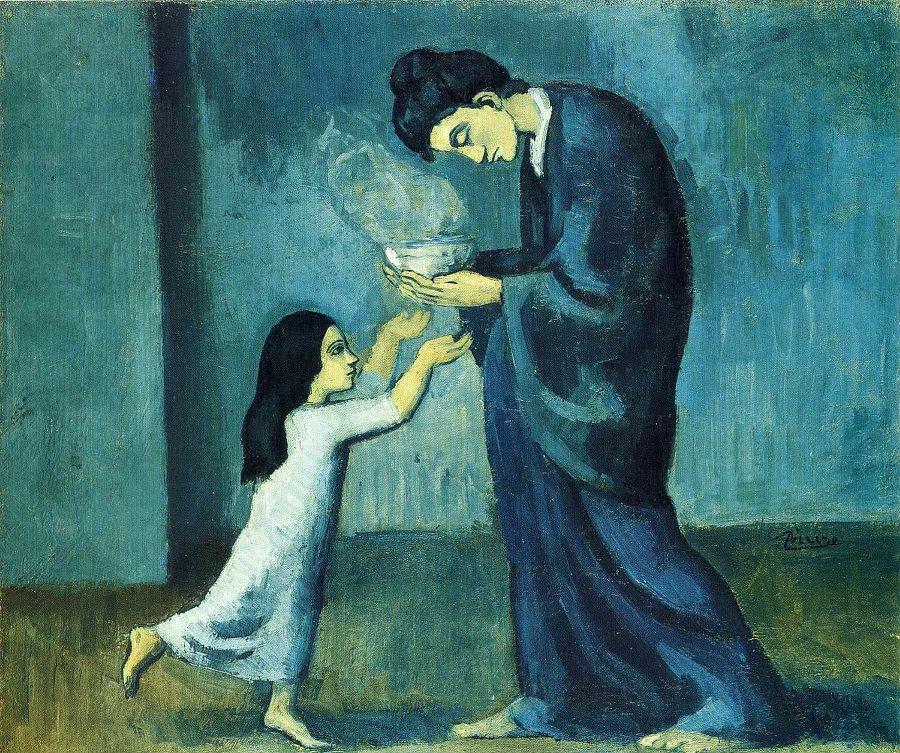 Pablo Picasso, The Soup, 1902