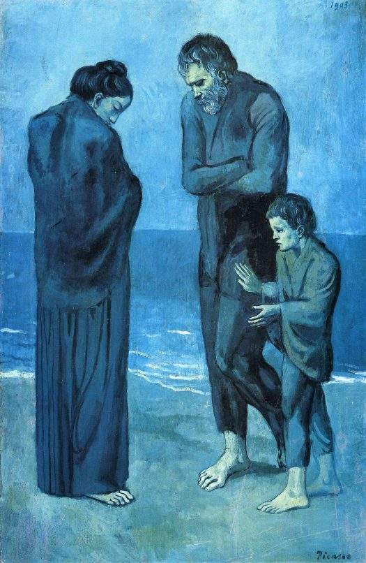 Pablo Picasso, The Tragedy, 1903