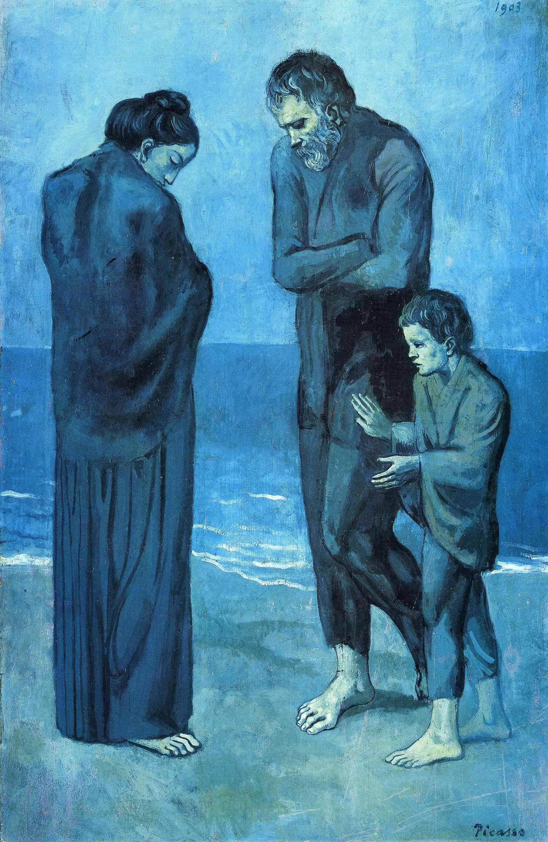 Pablo Picassos Blue Period