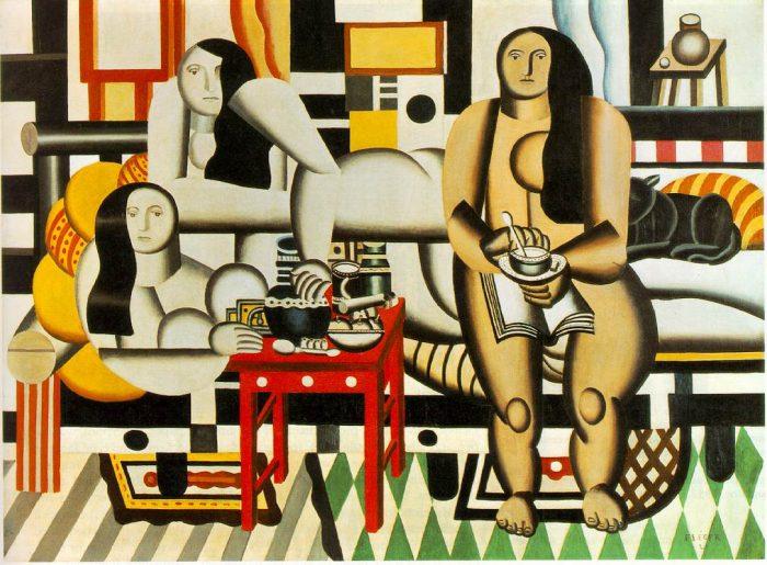 """Fernand Léger, """"Three Women"""" 1921-22"""