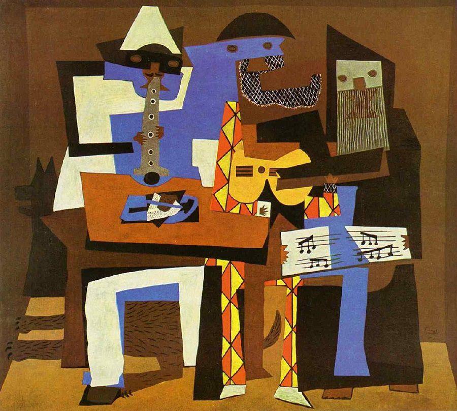 Pablo Picasso, Three Musicians