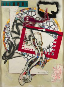 Frank Stella, The Pacific, 1989, The Waves Series, 1989