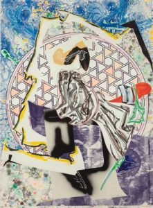 Frank Stella, The Great Heidelburgh Tun, 1989, The Waves Series, 1989