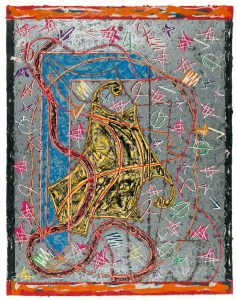 Frank Stella, Imola Three II, State I, Circuits Series 1982-1984