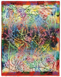 Frank Stella, Talladega Three II, Circuits Series 1982-1984
