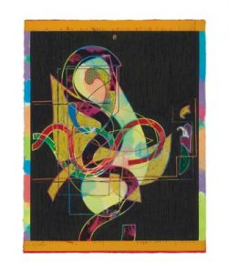 Frank Stella,, Pergusa Three, State I, Circuits Series 1982-1984