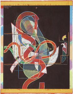 Frank Stella, Pergusa Three, Circuits Series 1982-1984