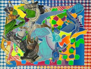 Frank Stella, East Euralia, Imaginary Places 1994-1999