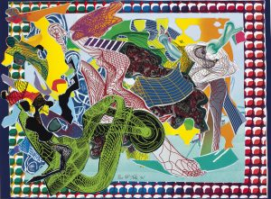 Frank Stella, West Euralia, Imaginary Places 1994-1999