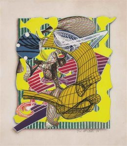 Frank Stella, Figlefia, Imaginary Places 1994-1999