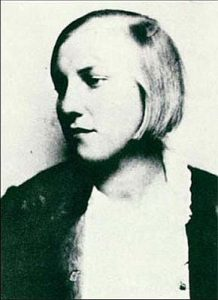 The young Marie-Therese Walter