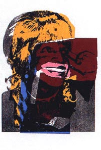 Andy Warhol, Ladies and Gentlemen, 1975, Screenprint on Arches Paper (F&S.II.133)