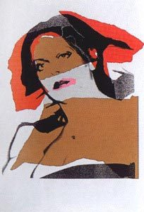 Andy Warhol, Ladies and Gentlemen, 1975, Screenprint on Arches Paper (F&S.II.134)