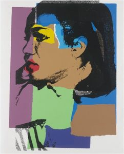 Andy Warhol, Ladies and Gentlemen, 1975, Screenprint on Arches Paper (F&S.II.129)