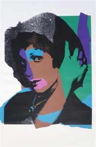 Andy Warhol, Ladies and Gentlemen, 1975, Screenprint on Arches Paper (F&S.II.132)
