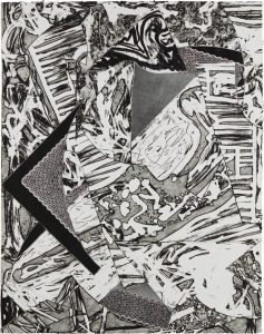 Frank Stella Swan Engraving III, 1982 from the Swan Engravings Series