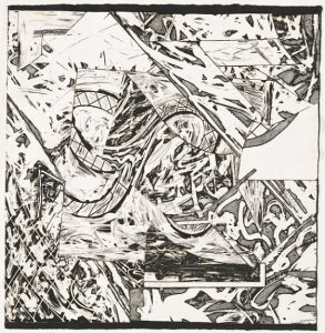 Frank Stella Swan Engraving V, 1982 from the Swan Engravings Series