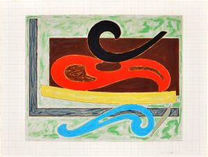 Frank Stella Eskimo Curfew, 1977, Exotic Bird Series, 1977