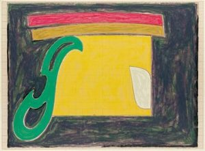 Frank Stella Mysterious Bird of Ulieta 1977, Exotic Bird Series, 1977
