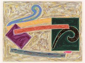 Frank Stella Inaccessible Island Rail 1977, Exotic Bird Series, 1977