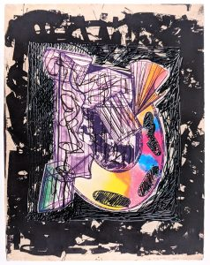 Frank Stella Bene come il sale, State I, 1989 from the Italian Folktales Series, 1988-1989