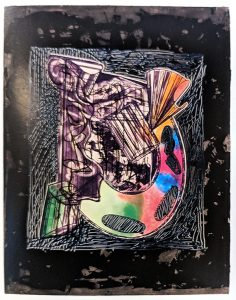 Frank Stella Bene come il sale, State IV, 1989 from the Italian Folktales Series, 1988-1989