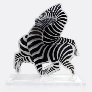 Victor Vasarely Zebra, 1965