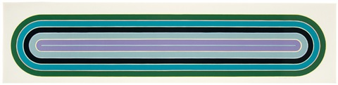 Frank Stella Los Alamitos, 1972, from the Race Track Series, 1972