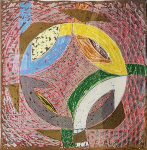 Frank Stella Polar Co-ordinates II, 1980 from the Polar Co-ordinates for Ronnie Peterson Series, 1980