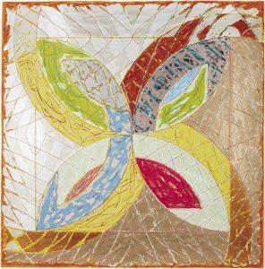Frank Stella Polar Co-ordinates III, 1980 from the Polar Co-ordinates for Ronnie Peterson Series, 1980