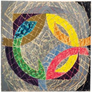 Frank Stella Polar Co-ordinates VIII, 1980 from the Polar Co-ordinates for Ronnie Peterson Series, 1980