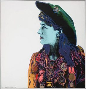 Andy Warhol, Annie Oakley,1986, Screenprint on Lenox Museum Board (F&S.II.378)