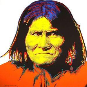 Andy Warhol,Geronimo, 1986, Screenprint on Lenox Museum Board (F&S.II.384)