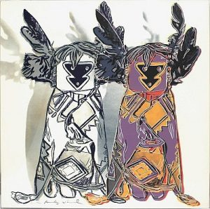 Andy Warhol,Kachina Dolls,1986, Screenprint on Lenox Museum Board (F&S.II.381)