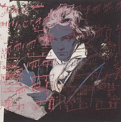 Andy Warhol,Beethoven, 1987, Screenprint on Lenox Museum Board (F&S.II.391)