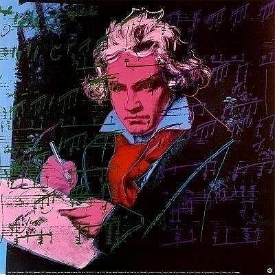 Andy Warhol Beethoven Series Prints