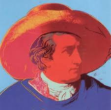 Andy Warhol, Goethe, 1982, Screenprint on Lenox Museum Board (F&S.II.271)
