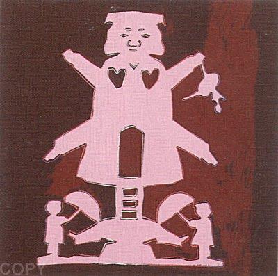 Andy Warhol, Hans Christian Andersen, 1987, Screenprint on Lenox Museum Board (F&S.II.397)
