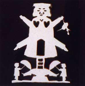 Andy Warhol, Hans Christian Andersen, 1987, Screenprint on Lenox Museum Board (F&S.II.401)