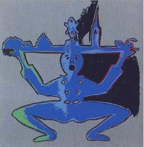 Andy Warhol, Hans Christian Andersen, 1987, Screenprint on Lenox Museum Board (F&S.II.396)