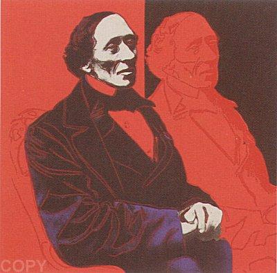 Andy Warhol, Hans Christian Andersen, 1987, Screenprint on Lenox Museum Board (F&S.II.394)