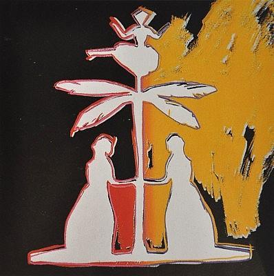 Andy Warhol, Hans Christian Andersen, 1987, Screenprint on Lenox Museum Board (F&S.II.399)
