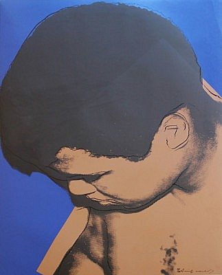Andy Warhol, Muhammad Ali 1978, Screenprint on Strathmore Bristole Paper, (F&S. II. 180)
